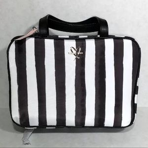 VS MAKEUP BAG COSMETIC HANGING CASE STRIPED